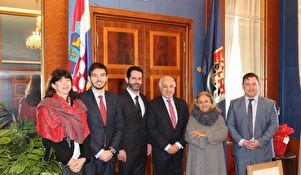 Nastupni posjet talijanskog veleposlanika